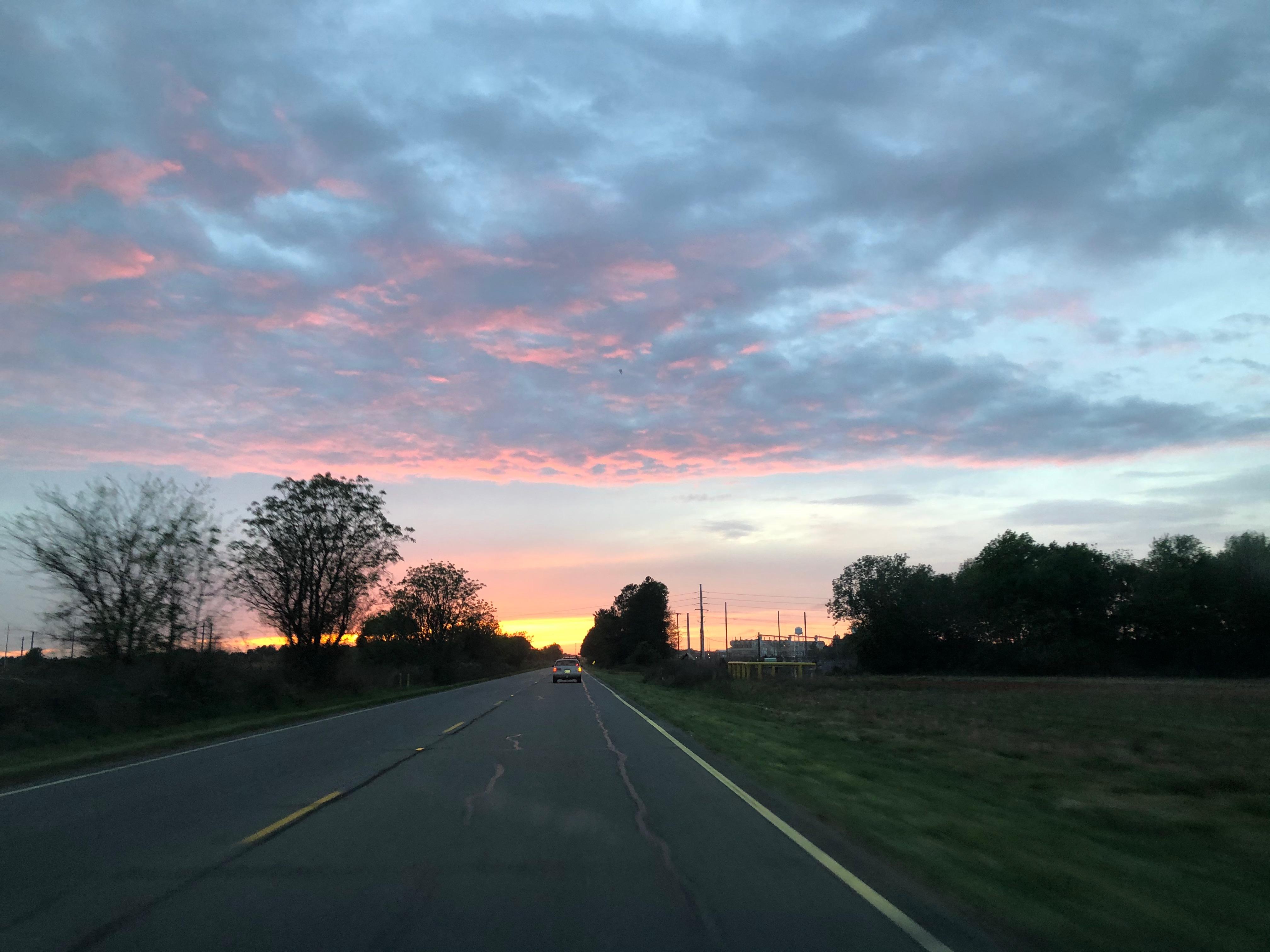 Driving through Aiken County South Carolina